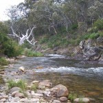 Eucumbene River rapids